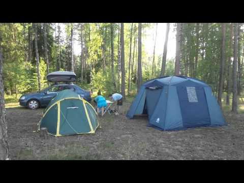 "Установка палаток ч.2 Tramp Grot и Шатер-тент ""TREK PLANET"" ""DINNER DOME"""