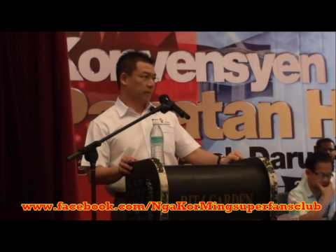 KONVENSYEN PAKATAN HARAPAN PERAK 2016 Ucapan Pengerusi DAP Perak YB Nga Kor Ming