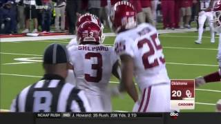 Oklahoma at Baylor | 2015 Big 12 Football Highlights