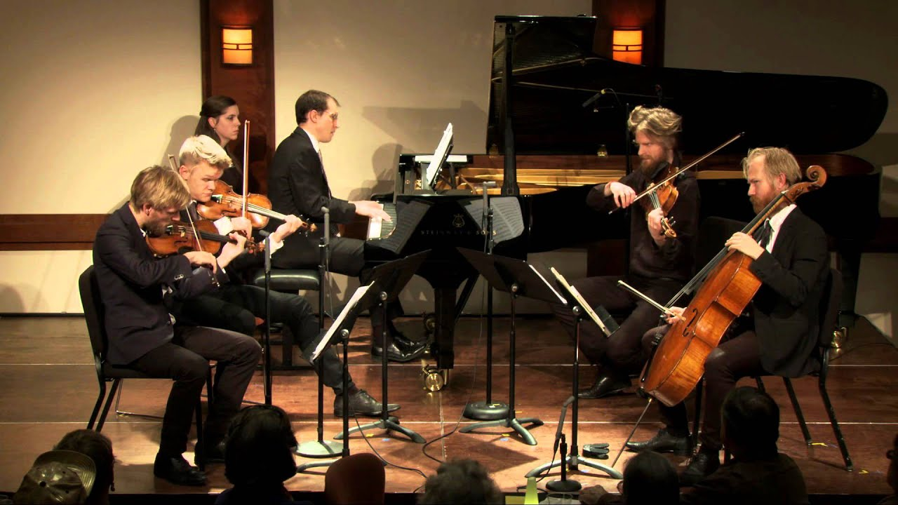 Vierne Quintet for Piano, Two Violins, Viola, and Cello, Op. 42, III. Maestoso Agitato