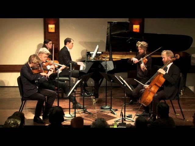 Vierne: Quintet for Piano, Two Violins, Viola, and Cello, Op. 42, III. Maestoso Agitato