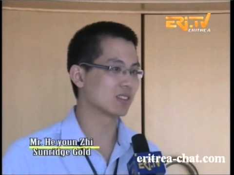Eritrean Mining Interview with Victor He youn Zhi   Sunridge Gold by Eri TV