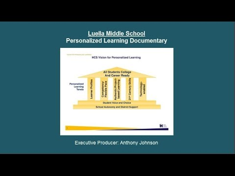 Luella Middle School Vision for Personalized Learning Documentary Cohort 2015