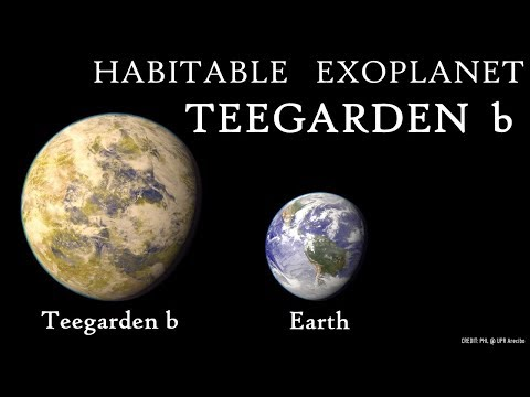 NEW: Potentially Habitable Exoplanet Orbiting Teegarden Star