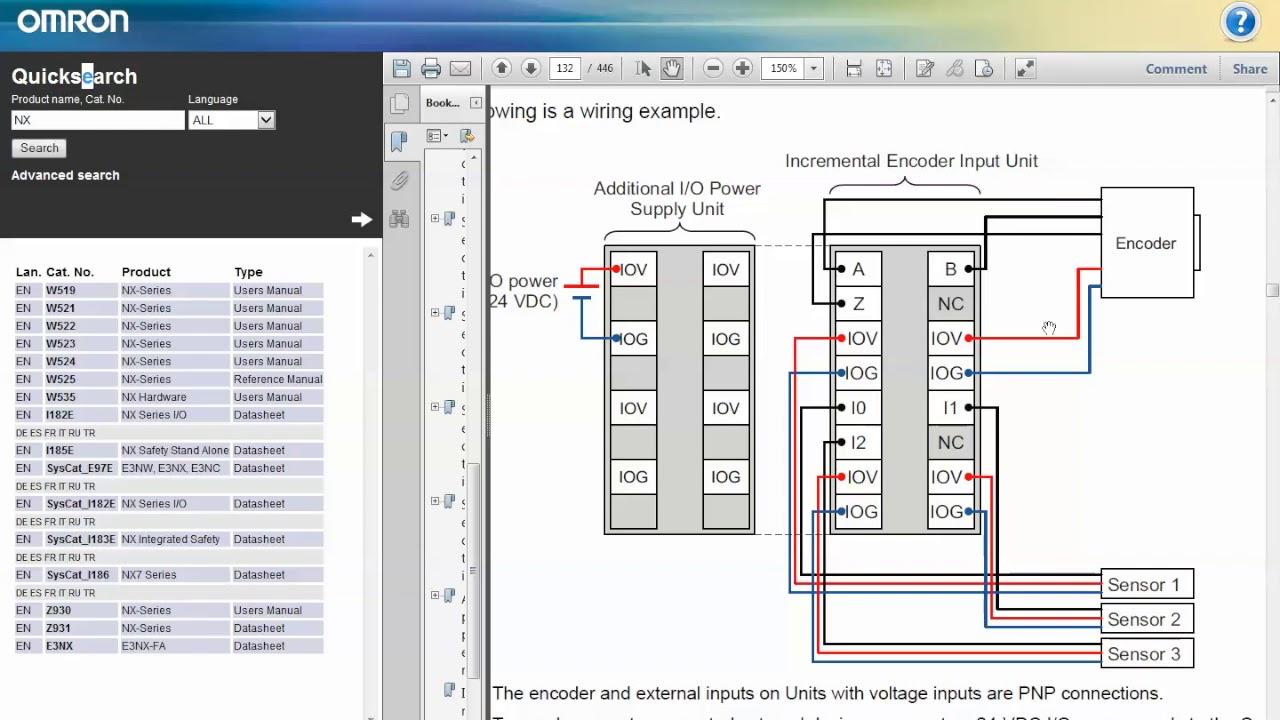 Ders:36 | OMRON Sysmac Studio NX Encoder Kartı Özellikleri, Bağlantı ...