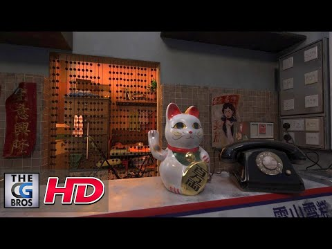 """CGI 3D Animated Short: """"Ghost City"""" - by Emily Fung & Jessica Cheung"""