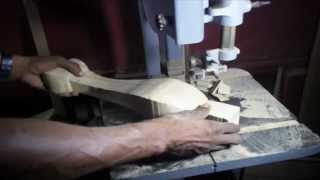 How To Cut A Cabariole Leg- Past And Present Woodwork.