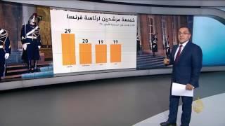 أبرز اتجاهات الرأي العام تجاه المرشحين الفرنسيين