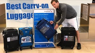 Best Carry-On Luggage  - Travel Pro Max Lite 4, FlightPath, Delsey Air Elite, Samsonite Aspire XLite thumbnail