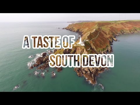 South Devon From The Air - Toad Hall Cottages