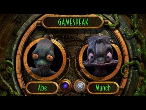 Oddworld: Munch's Oddysee PS3 Walkthrough HD 720P Part 1 - Intro + Spooceshrub Forest