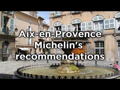 Aix-en-Provence  : Michelin's recommendations