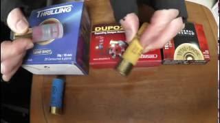 ダムダム弾の典型例 サボットスラッグ弾 Dumdum  bullet Model example rifled slug ダムダム弾 検索動画 8