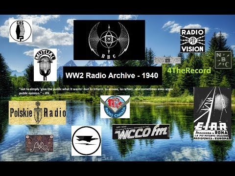 WW2 Radio Archive: June 1940