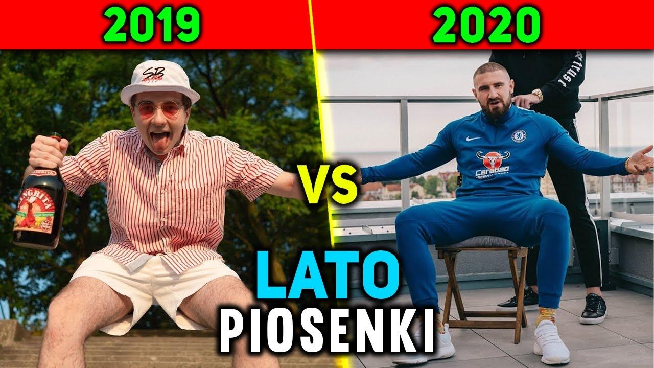 LATO 2019 vs LATO 2020 - PIOSENKI POLSKICH RAPERÓW [Mata, ReTo, Kizo, White,Żabson,chillwagon,Tymek]