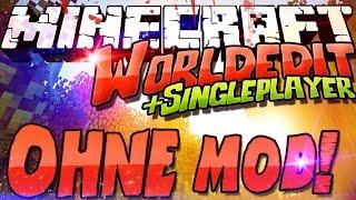 Worldedit Commands OHNE Mod / Plugin! Minecraft 1.11 Multi + Single Player! /fill Tutorial Deutsch