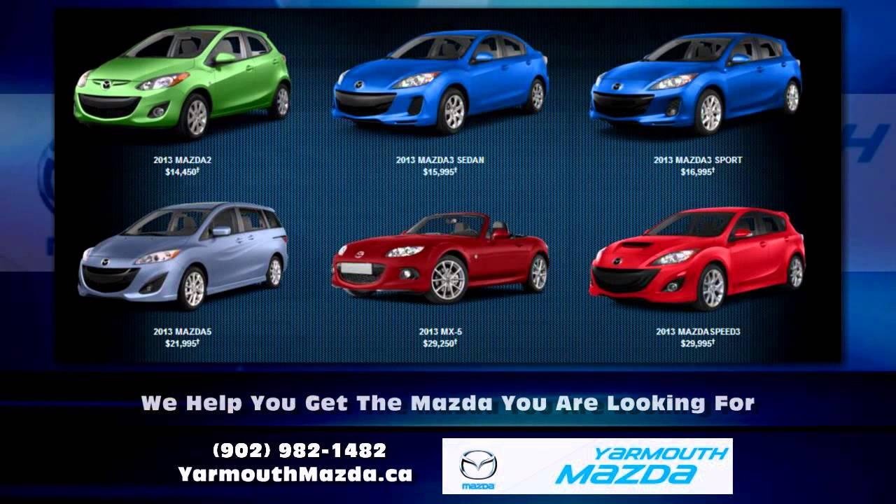 Yarmouth Nova Scotia Mazda Dealer Yarmouth Mazda - YouTube