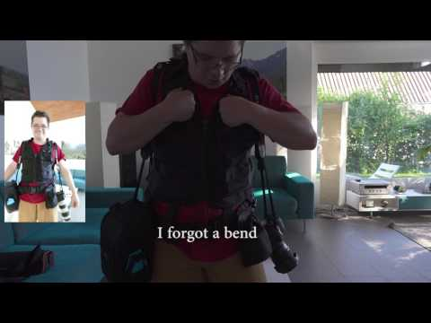 Unboxing and Testing Lowepro Technical Vest, Belt and Lens Exchange Case 200 AW