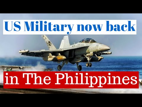 The United States Military Invades The Philippines ..... Sort Of