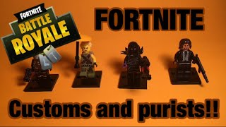 Download Custom Lego Fortnite Ghoul Trooper Candy Axe MP3