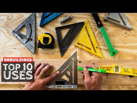 """top-10-uses-of-a-rafter-square,-aka-""""speed""""-square"""