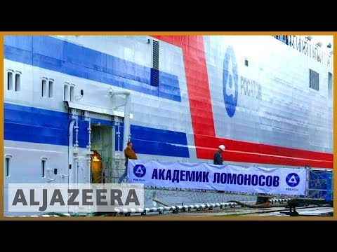 Russia launches floating nuclear power Akademik Lomonosov