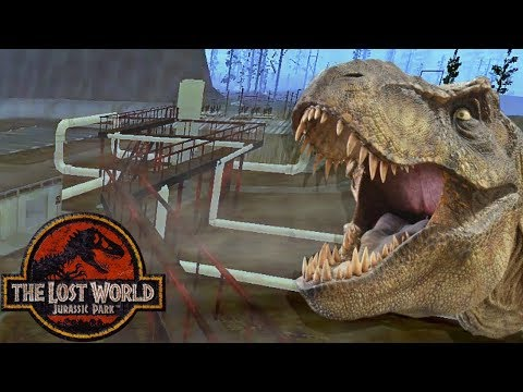The Geothermal Power Plant Of Isla Sorna - Jurassic Park: Trespasser - Pine Valley