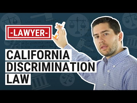 CA Discrimination Law Explained by an Employment Lawyer