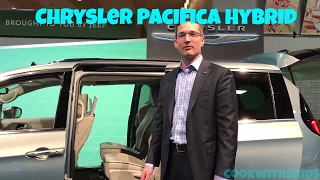 2017 Chrysler Pacifica Hybrid 7 passenger Minivan
