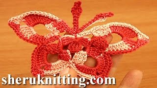 Easy Crochet Butterfly Tutorial 14 Free Crochet Butterfly Patterns