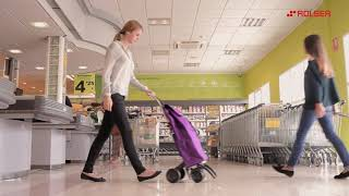 Shopping Trolley Rolser I-Max Bancal 2 Wheels Foldable video