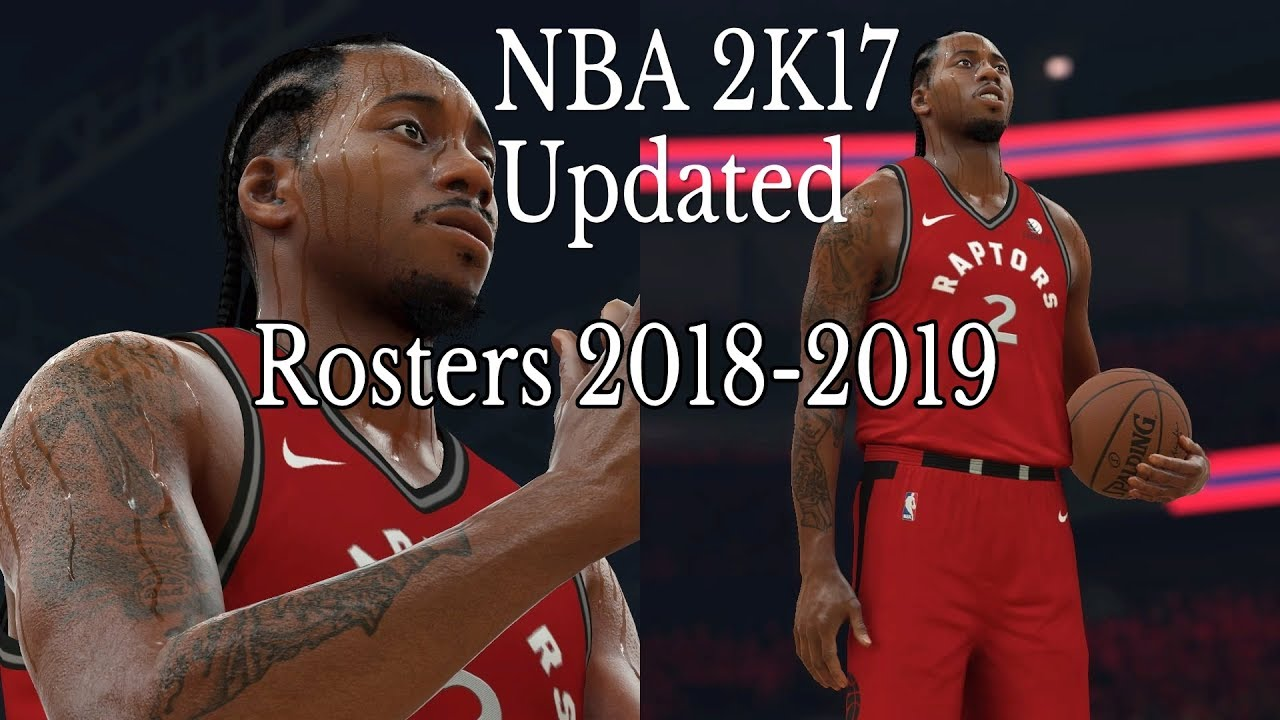 NBA 2K19 ROSTERS: TOR Raptors @ WA Wizards | NBA 2K17 UPDATED 2018-2019
