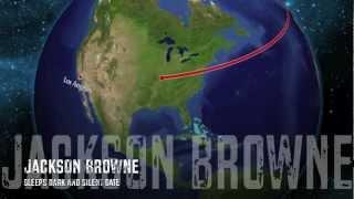 Jackson Browne - Sleeps Dark And Silent Gate  HQ Lyrics