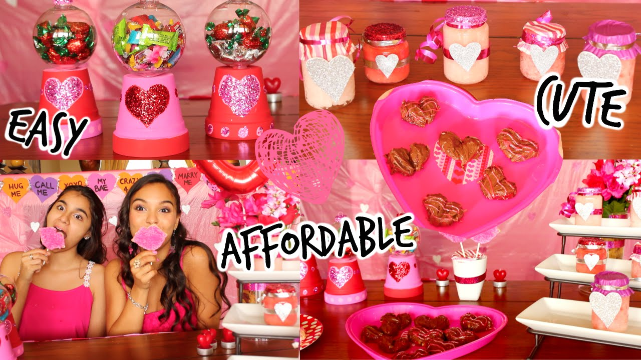 Diy Valentines Day Treats Gifts Youtube