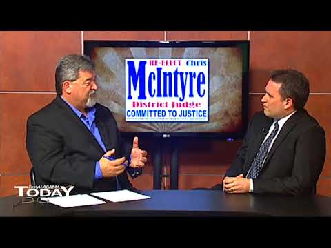 East Alabama Today - District Judge Chris McIntyre