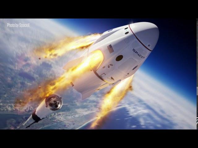 Texas A&M Science - Helping Crew Dragon Take Flight