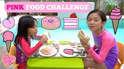 Eating Only Pink Food for 24 Hours Challenge