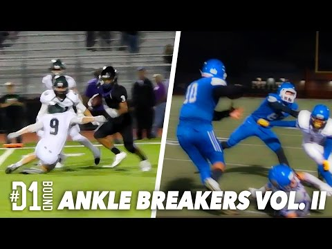 Best HS Football Moves  #D1Bound Ankle Breakers Vol II: HS Football Highlights (2015)