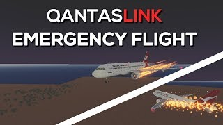 ROBLOX FLIGHT | QANTASLINK Emergency Landing!!!