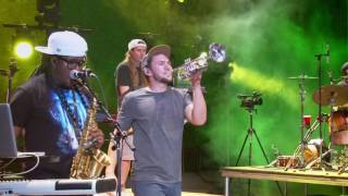rebelution roots reggae music live at red rocks