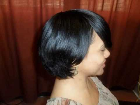 Black Hair Salon Houston l Short hair cuts l Short hairstyles - YouTube