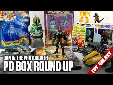 PO Box Round Up Disney Toy Box, Funko Pops, Godzilla  Dan in the Photobooth #148