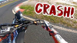 Ich Crash die brandneue KTM SMCR 690