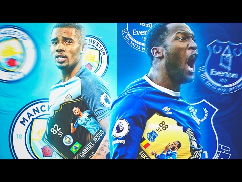 PLANTILLA LUKAKU 88 & GABRIEL JESUS OTW | PARTIDAZO!!! | FIFA 17