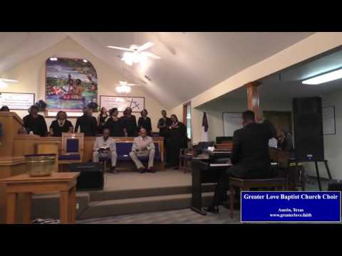 Greater Love Baptist Church choir sings