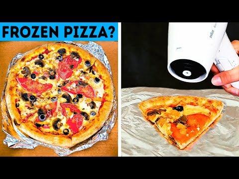 28 CRAZY FOOD HACKS AND FOOD FAILS