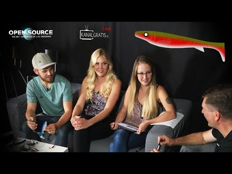 "Kanalgratis Live Season Premiere - Open Source ""FatNose Shad"", FiskeFürAlle in the studio, 22/8 2016"