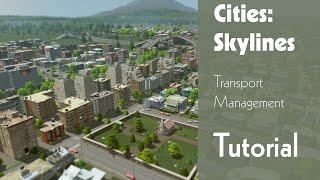Cities: Skylines - Tutorial: Transport Management (Bus, Zug, Schiff, Flughafen)