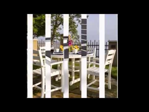 Polywood All Weather Patio Furniture: Made From Recycled Milk Jugs!