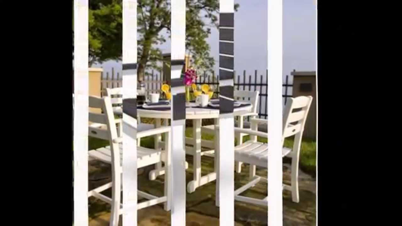 Polywood All Weather Patio Furniture: Made From Recycled Milk Jugs! Part 38